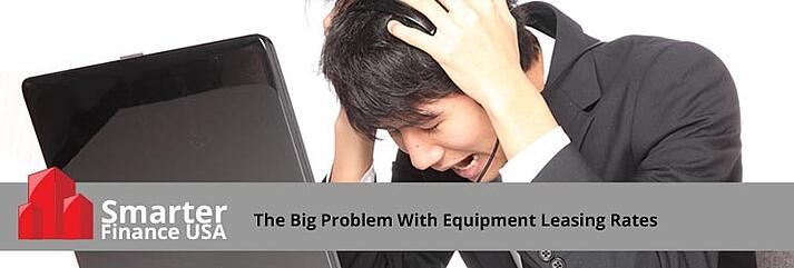 equipment-leasing-rates-problems