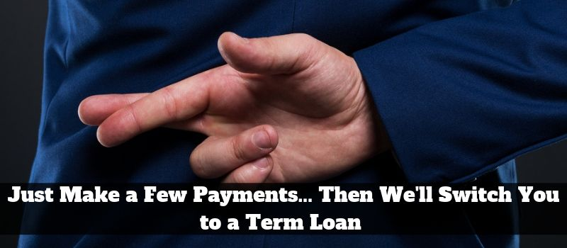 Merchant Advance to Term Loan