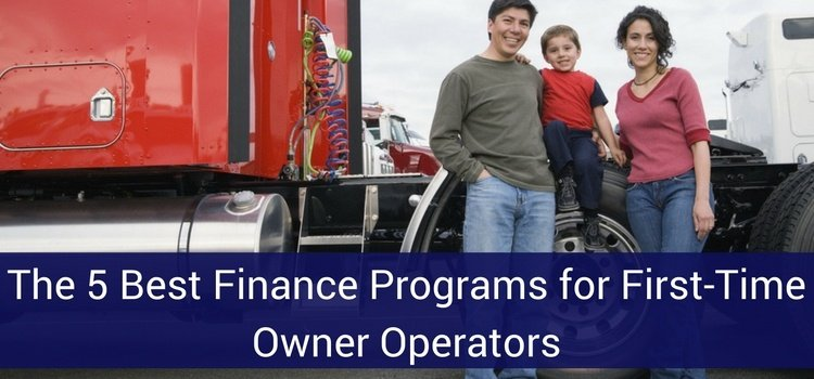 First Time Commercial Truck Financing 2018: (5 Best Programs)